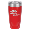 20oz Tumbler - Red 20oz Stainless Steel Tumblers