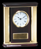 Rosewood Mantle Clock Desk Clocks