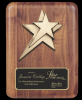 Rounded Edge Solid Walnut w/ star casting Page 26 - Plaques