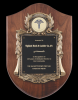Walnut Cast Corporate Shield Plaque Page 26 - Plaques
