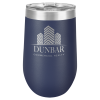 Wine Tumbler- 16oz - Navy Blue Stainless Steel Tumblers