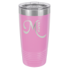 20oz Tumbler - Light Purple  Stainless Steel Tumblers