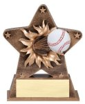 Star Burst Resin -Baseball Baseball Awards