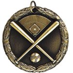 Baseball with Field Baseball Awards