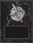 Black Marble Finish Plaque with Sculptured Mount Black Marble Finish Plaques