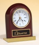 Rosewood Piano Finish Clock Employee Awards