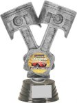 Piston Trophy - 10 Figure on a Base Trophies