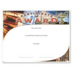 Award Fill in the Blank Certificates - Special Order