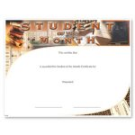 Student Of The Month Fill in the Blank Certificates - Special Order