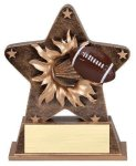 Star Burst Resin -Football Football Awards