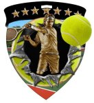Tennis (Male) Medal Full Color Medal Awards