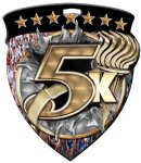 5K Medallion Full Color Medal Awards