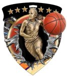 Basketball (Female) Medal Full Color Medal Awards