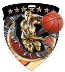 Basketball (Male) Medal Full Color Medal Awards