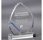 Blaze Crystal Award Howard Miller Crystal Awards - Special Order