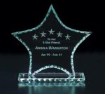 Pearl Edge Star Jade Glass Awards