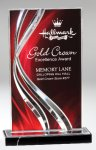 Illusion Acrylic Red Modern Acrylic Awards