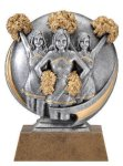 Motion X 3-D -Cheerleader Female Motion Extreme 3D Sculptured Awards