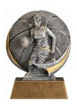 Motion X 3-D -Basketball Female  Motion Extreme 3D Sculptured Awards