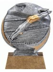 Motion X 3-D -Swimming Male  Motion Extreme 3D Sculptured Awards