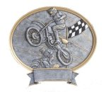 Legend Motocross Oval Award Moto-Cross Awards