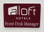 Engraved Name Badge - 3 x 2 Name Badges