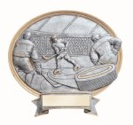 Legend Ice Hockey Oval Award Oval Sculptured Awards