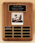 American Walnut Photo Perpetual Plaque Photo Perpetual Plaques