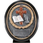 Christian Resin Oval Premium Oval Sculptured Award