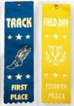 2x8 Stock Sport Ribbons - Field Day Ribbon Awards