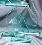 Premium Glass Flame Sail Awards