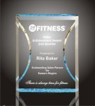 Hour Glass Plaque Acrylic Award Special Order Acrylic Awards