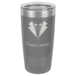 20oz Tumbler - Dark Gray Stainless Steel Tumblers