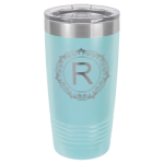 20oz Tumbler - Light Blue  Stainless Steel Tumblers