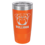 20oz Tumbler - Orange  Stainless Steel Tumblers