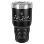 30oz Tumbler -Black Stainless Steel Tumblers