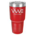 30oz Tumbler - Red Stainless Steel Tumblers
