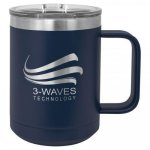 Coffee Mug Tumbler - 15oz - Navy  Stainless Steel Tumblers