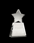 Clear Star on clear base Star Awards