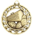 Cheerleader Medal Super Star Medal Awards
