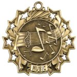 Music Ten Star Medal Ten Star Medal Awards