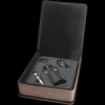 Leatherette 3-Piece Wine Tool Gift Set Wine Gifts