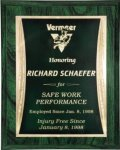Green Woodgrain Finish Plaque Woodgrain Finish Plaques