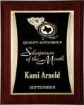 Mahogany Woodgrain Finish Plaque Woodgrain Finish Plaques